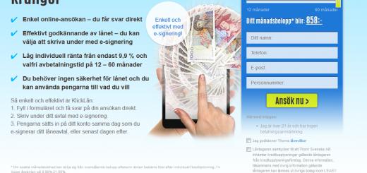 www.klicklån.se