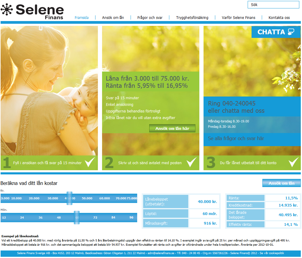 www.selenefinans.se