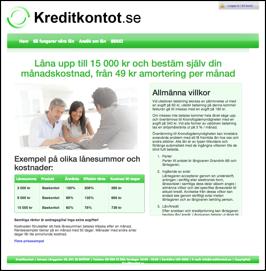 kreditkontot.se
