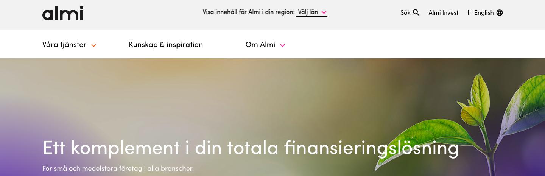 Almi Företagslån kontakt via telefon och email!