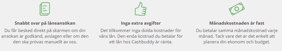 CashBuddy utbetalning - få sms lån med direkt utbetalning inom 2 dagar!