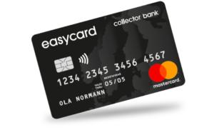 Collector Easycard är ett enkelt kreditkort!