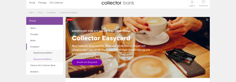 Har Collector easycard kundtjänst som man kan kontakta?