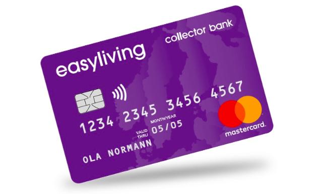 Collector easyliving passar bra till de som kräver en större kredit!