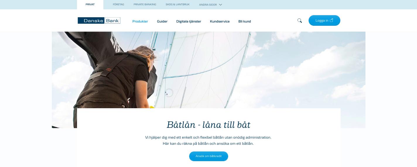 Tar Danske Bank båtlån UC vid sina kreditupplysningar?