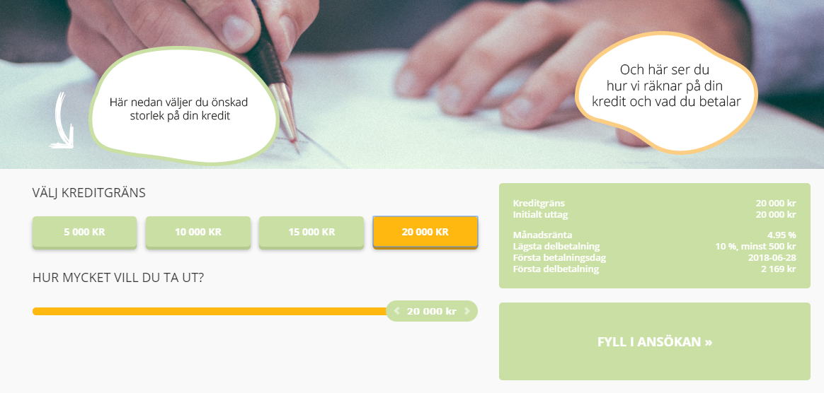 Flexkontot uc - låna 20 000 kr snabbt och enkelt trots Flexkontot tar UC!