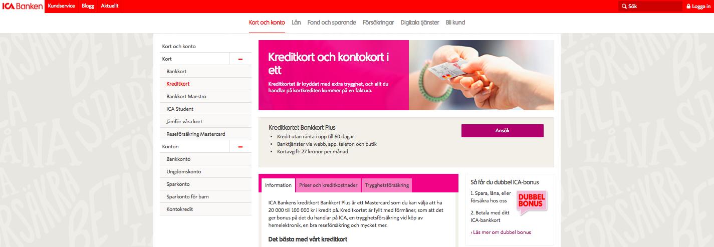 ICA kreditkort fungerar utomlands lika väl som hemma i Sverige!