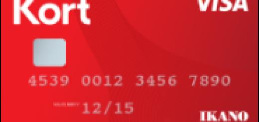 Ikano Kort Visa