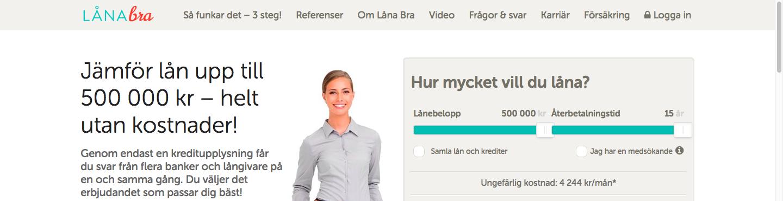 Vad har Låna Bra omdöme från sina tidigare kunder?