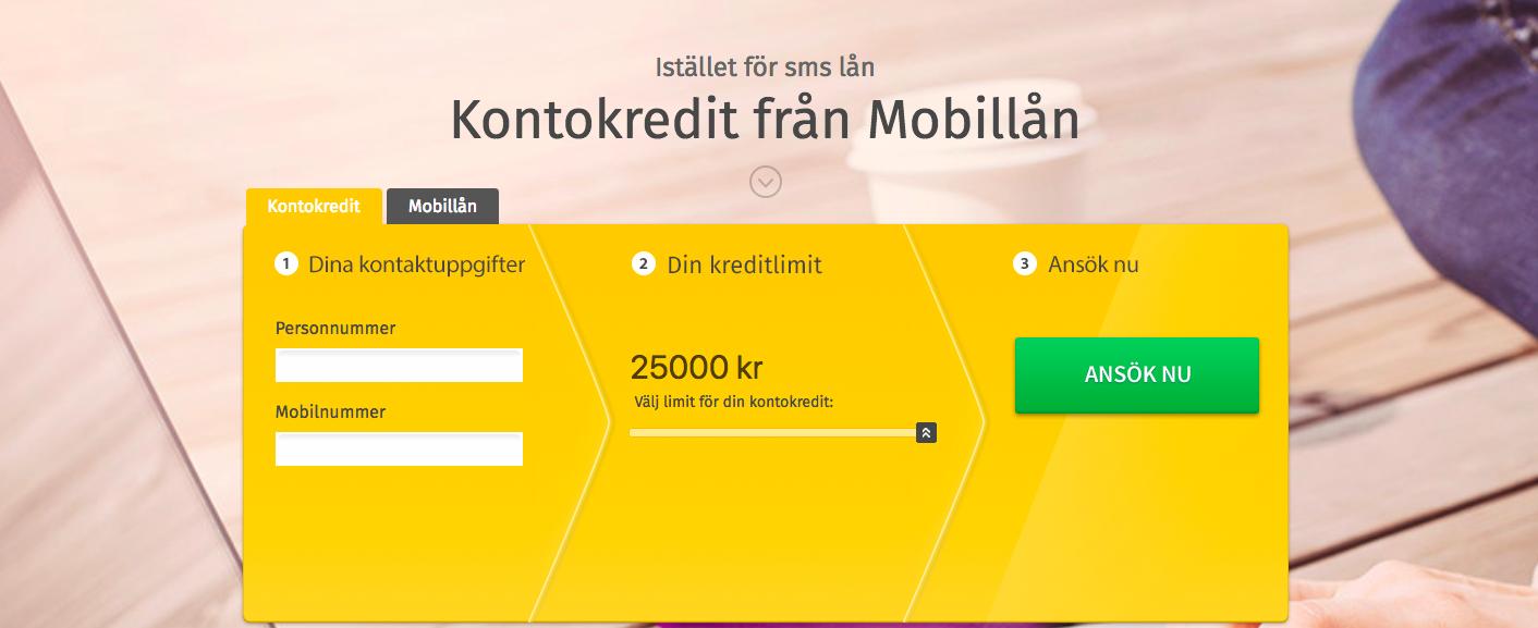 Mobillån kontokredit utbetalning direkt både under helg och vardag!