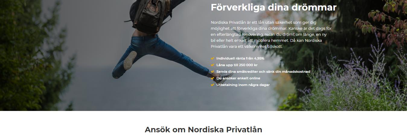 Nordiska privatlån kontakt med bolaget hålls enkelt via både telefon och email!