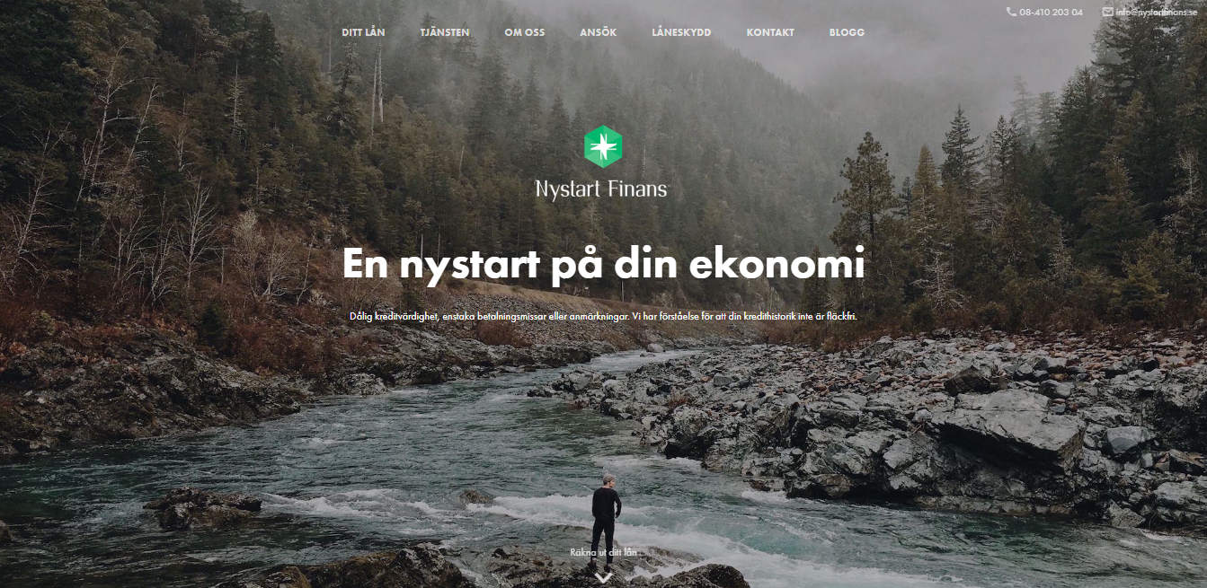 Vad har Nystart Finans för öppetider?