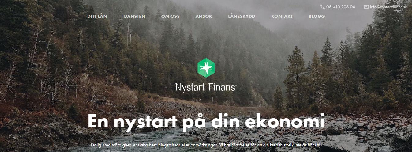 Nystart Finans lån är ett utmärkt lån för kunder med betalningsanmärkningar och många förfrågningar, vilket inte är ett hinder hos Nystart Finans!