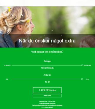 Hos Payex Låna pengar är en snabb affär som sköts enkelt över nätet!