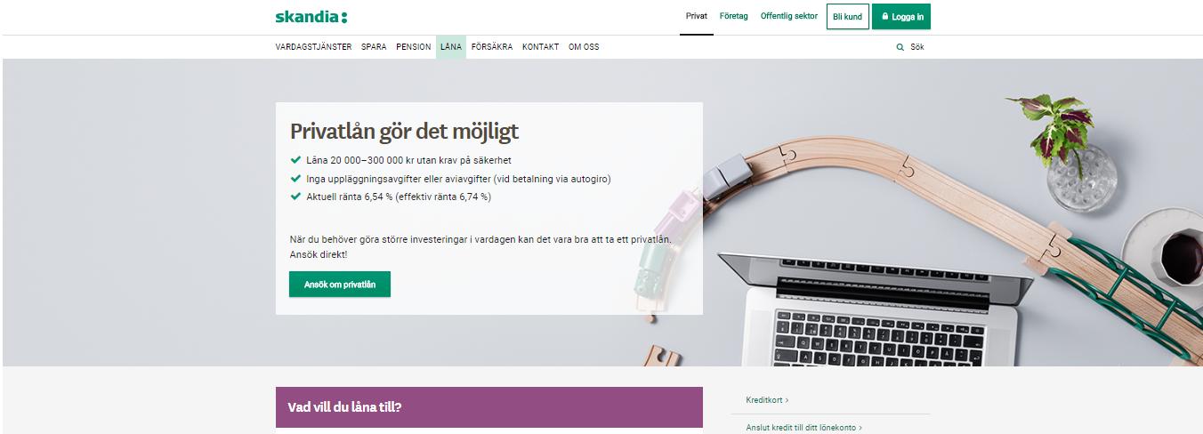 Skandiabanken lån erbjuder flexibla alternativ för olika ekonomiska sitsar!