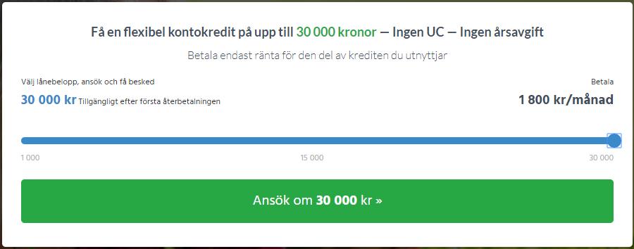 Smspengar uc - kredit där du kan låna 3000 kr utan uc kontroll!