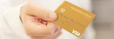 Spärra Handelsbanken kortet
