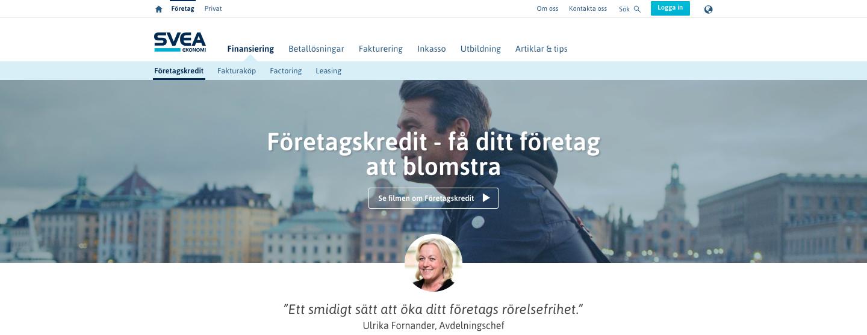 Vad har Svea Företagskredit ekonomi för inverkan på ens företag?