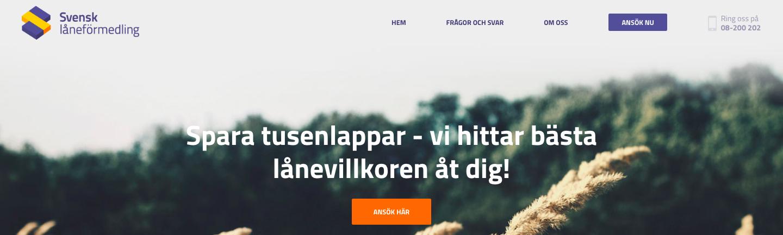 Vad har Svensk låneförmedling omdöme av tidigare kunder?