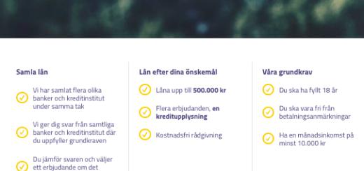 Svensk låneförmedling vilka banker jobbar de med?
