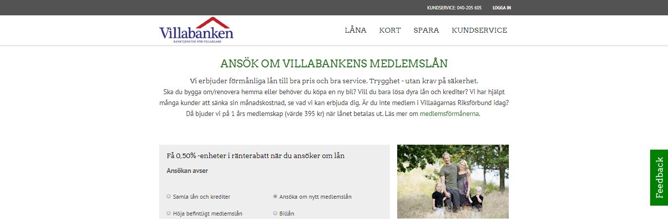 Har Villabanken tillgång till internetbanken? Ja de använder sig av internetbank via BankID!