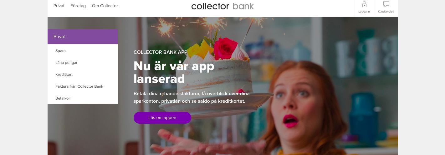 Collector lån erbjuder dig som kund flera olika alternativ att välja bland!