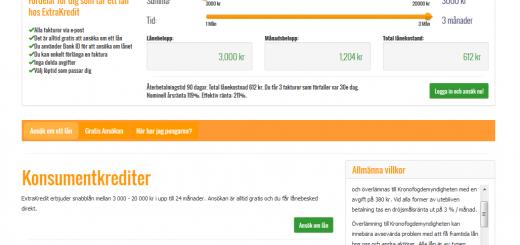 www.extrakredit.se