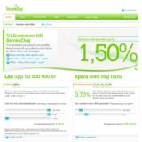 Sevenday har en kundtjänst som kan informera dig om deras olika lånalternativ!