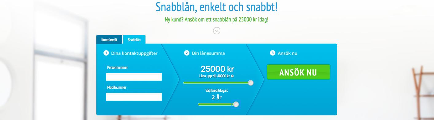 Med kontokredit hos Snabbfinans blir utbetalning av lån ännu lättare!