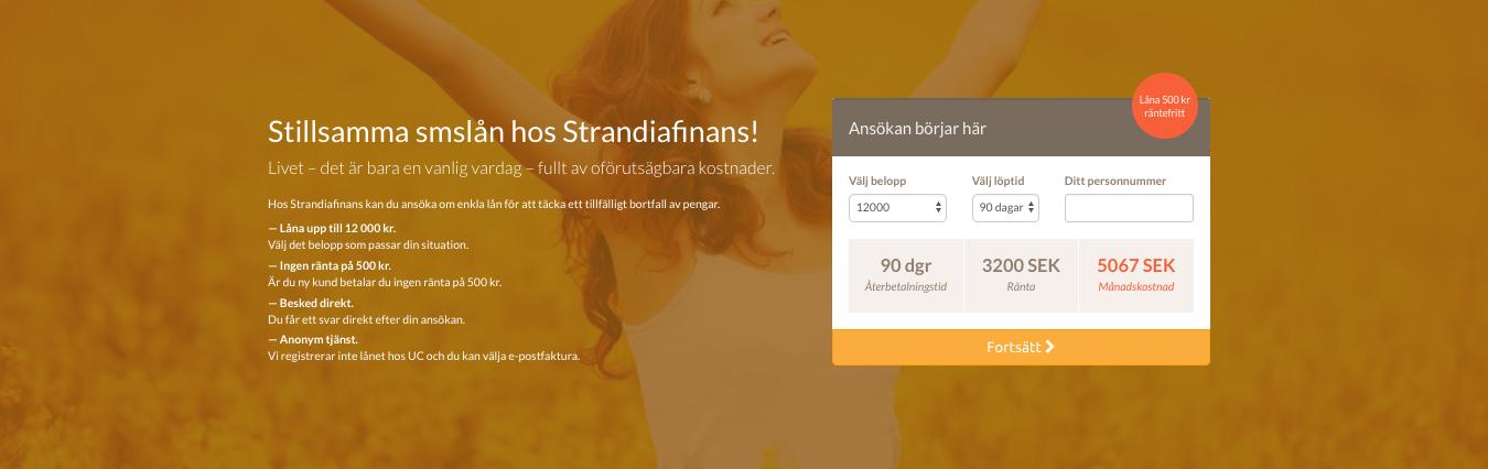 Strandia Finans har öppetider som passar de flesta!