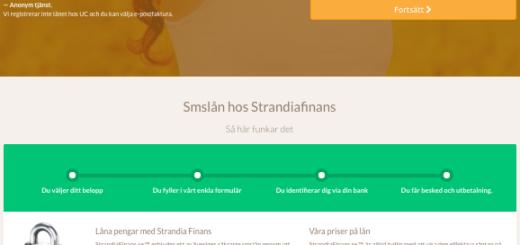 Strandia Finans sköter utbetalning av ditt lån snabbt och smidigt!
