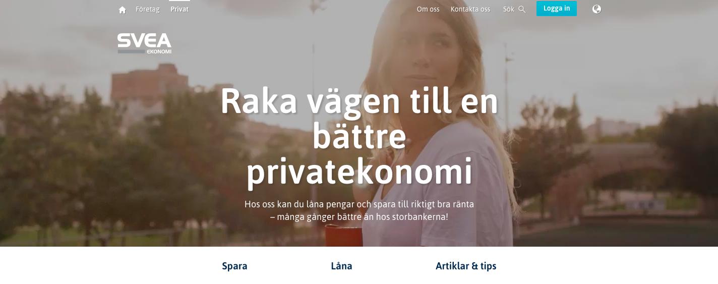 Svea Ekonomi ab kan erbjuda flera sorters lån för olika ekonomiska förutsättningar!