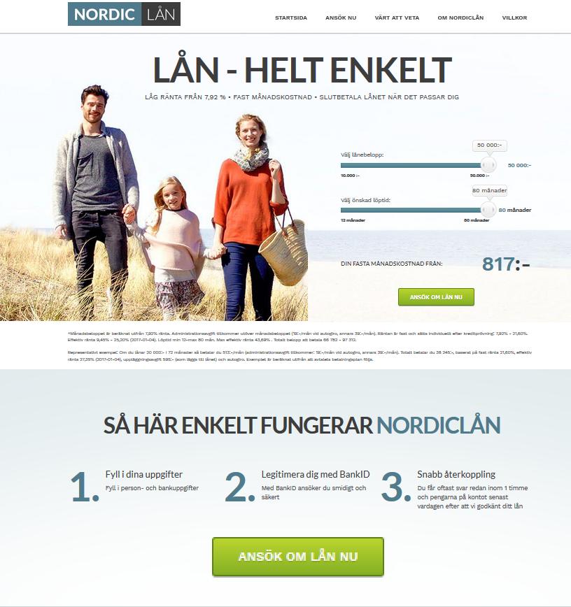 www.nordiclaan.se